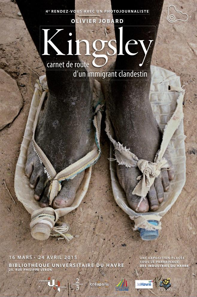 parcours audio de l exposition kingsley carnet de route d un immigrant universit le. Black Bedroom Furniture Sets. Home Design Ideas